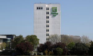 A Holiday Inn in Southampton that was closed in April due to the coronavirus restrictions.