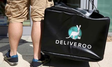 Deliveroo worker