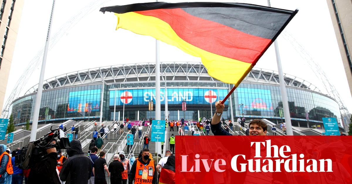 England v Germany: Euro 2020, last 16 – live!