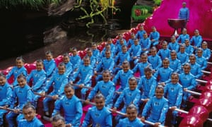 Now in blue: the Oompa Loompas.
