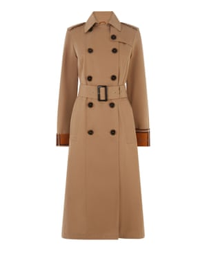 Warehouse trench coat
