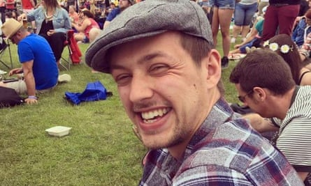 Simon Brown, from East Grinstead, West Sussex, was killed travelling on the Gatwick Express.