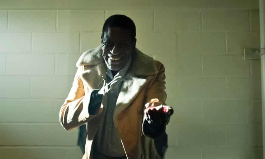 USA. Tony Todd in a scene from (C)Metro-Goldwyn-Mayer new movie: Candyman (2021). Plot: A spiritual sequel to the 1992 horror film 'Candyman' that returns to the now-gentrified Chicago neighborhood where the legend began. Ref: LMK110-J7211-160721 Supplied by LMKMEDIA. Editorial Only. Landmark Media is not the copyright owner of these Film or TV stills but provides a service only for recognised Media outlets. pictures@lmkmedia.com