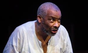 Don Warrington in Talawa's King Lear