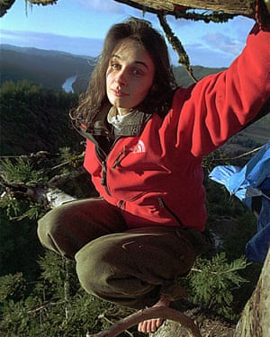 Julia 'Butterfly' Hill … the activist who lived in a tree.