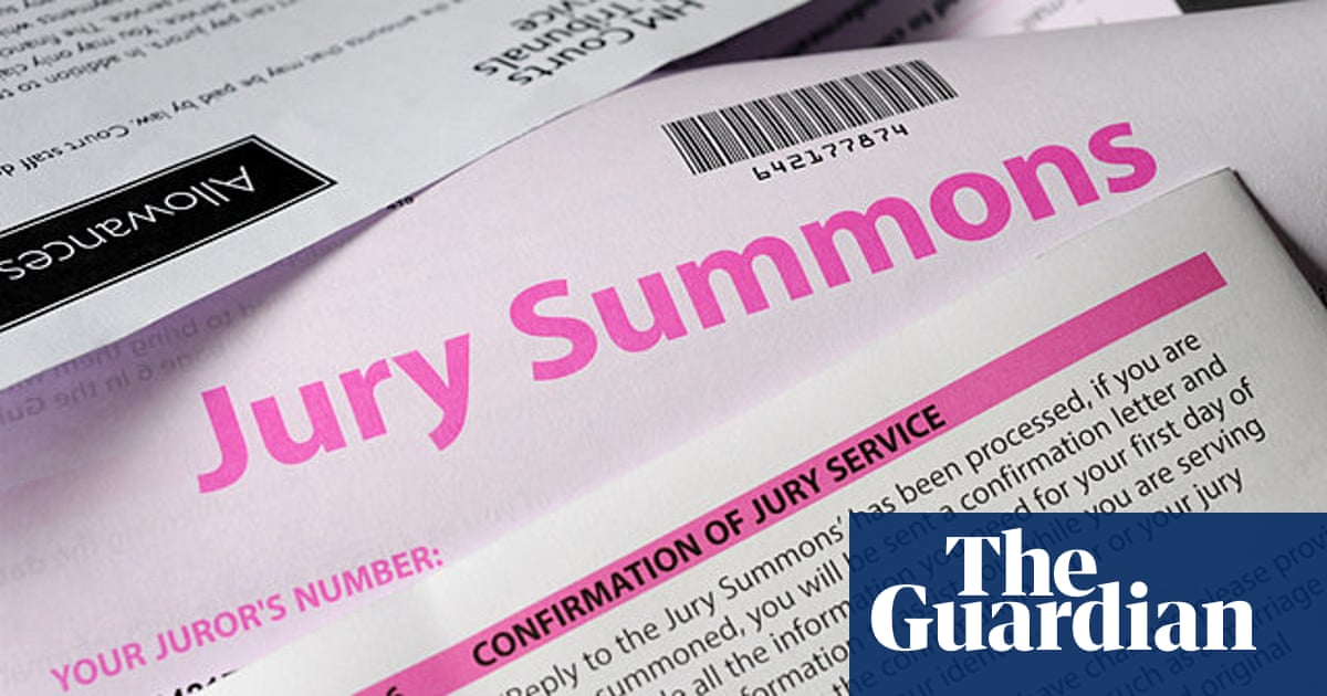 Disability equality on juries a sham   Society   The Guardian