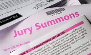 A jury summons letter.