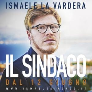 A campaign poster for Ismaele La Vardera.