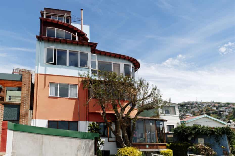 La Sebastiana, Neruda's house in Valparaiso.