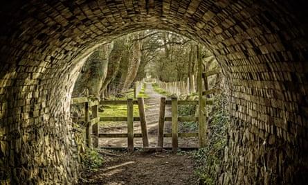 Calke Abbey tunnel