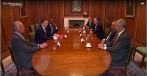 Bank bosses meeting George Osborne today