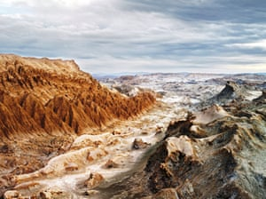 The Valle de la Luna in Chile's Atacama desert is one of the most important environments on Earth for researchers who need to replicate the conditions of Mars.
