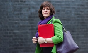Energy minister Claire Perry arriving at Downing Street