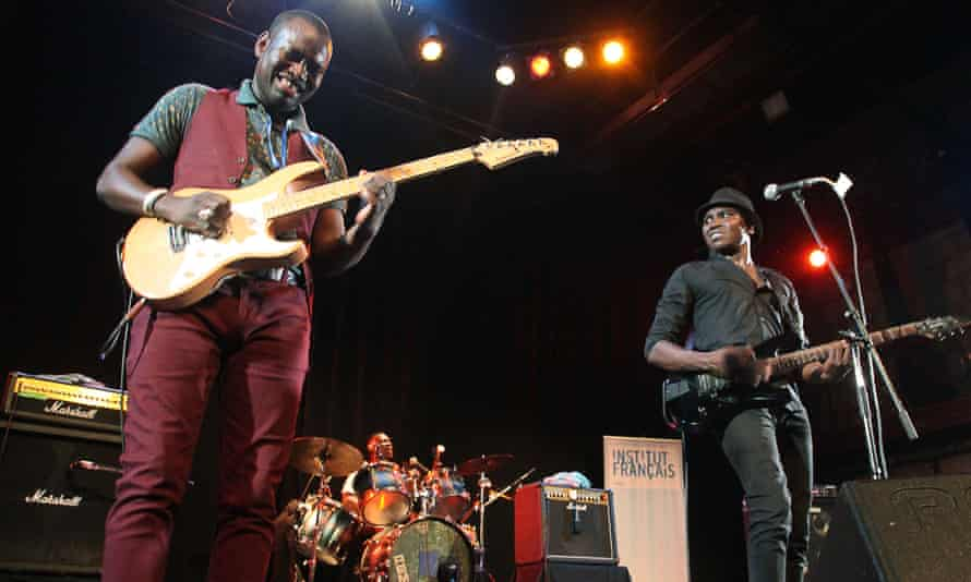 Songhoy Blues at the festival.