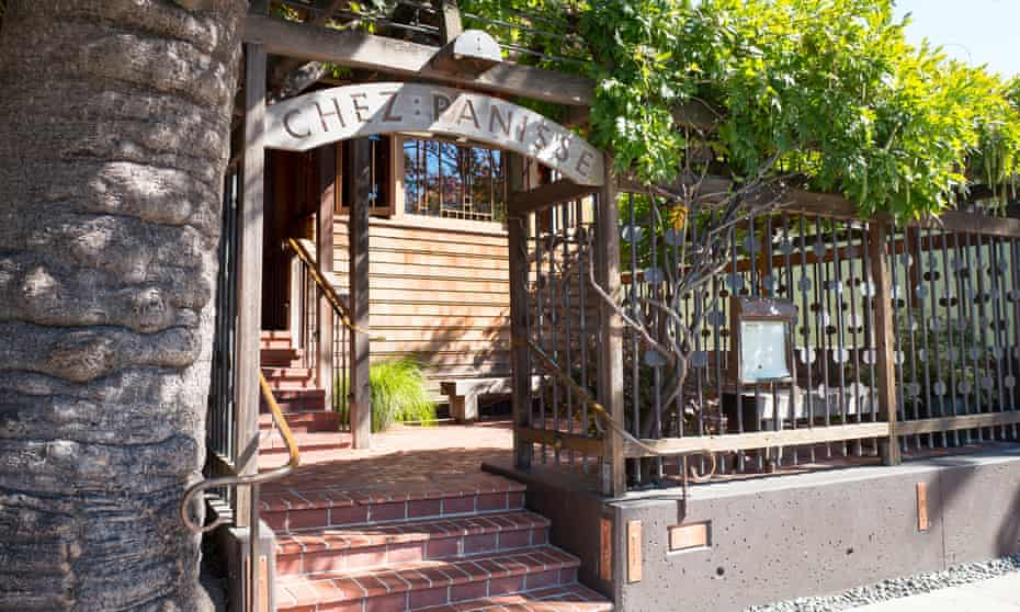 Chez Panisse, the flagship restaurant of iconic restaurateur Alice Waters, in the 'Gourmet Ghetto'.