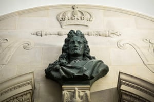 Bust of William Pattison The Bank of England London