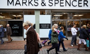 Marks & Spencer announced plans to close 30 of its outlets.
