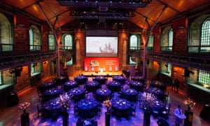 The Guardian University Awards 2017 held at LSO St Luke's in Old Street, London. 29 March 2017