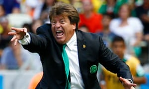 Mexico's former coach Miguel Herrera lost his job after winning the Gold Cup and then punching a reporter in 2015