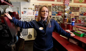 Sarah Barker is one of more than 1,200 ex-offenders working for the privately owned Timpson group.