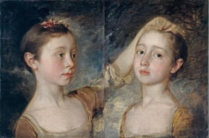 Mary and Margaret Gainsborough, the Artist's Daughters by Thomas Gainsborough.