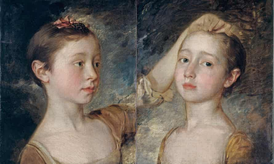 Mary and Margaret Gainsborough, the Artist's Daughters by Thomas Gainsborough c.1760-1.