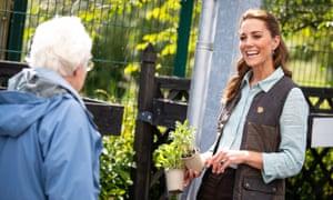 Kate the gardener