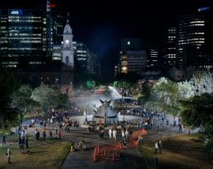Crowd Theory: Adelaide: Victoria Square / Tarntanyangga, 2013