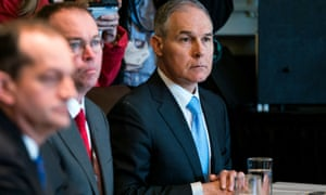 Scott Pruitt, the embattled administrator of the EPA.