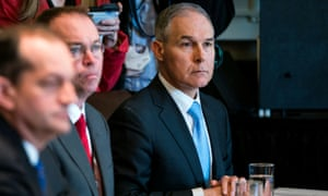 Scott Pruitt, the EPA administrator, has been under fire since the revelation that he lived in a bargain-priced Capitol Hill condo tied to an energy lobbyist.