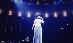 Aretha Franklin performing at Madison Square Garden, New York City, 1968