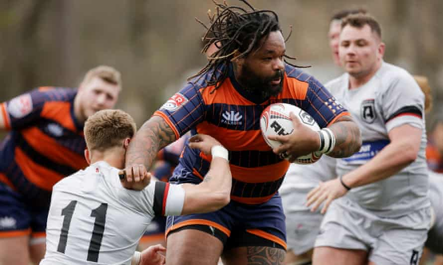 Mathieu Bastareaud in action for Rugby United New York: the Frenchman is one of the biggest names to have played in MLR