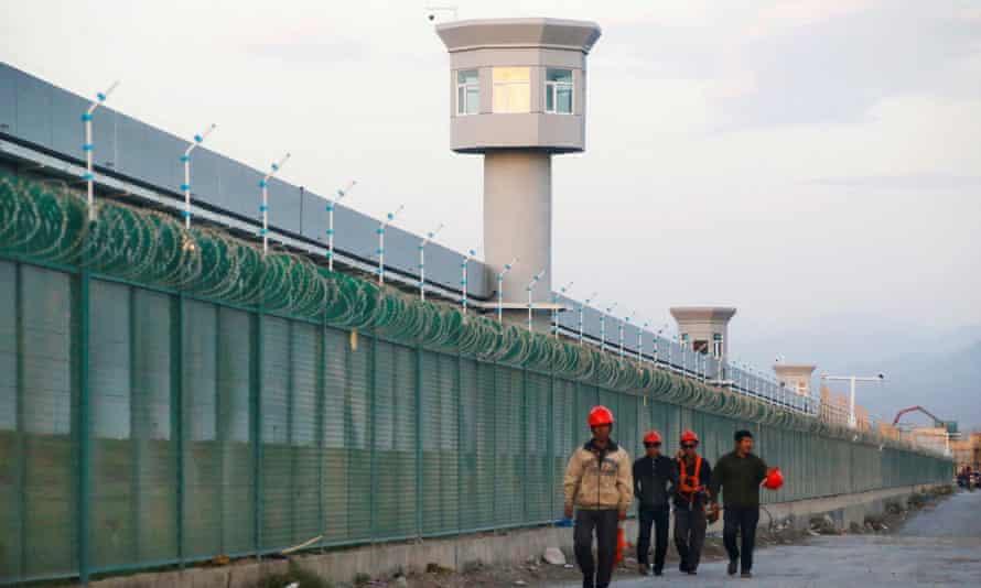 One of China's 're-education' centres in Dabancheng, Xinjiang Uighur Autonomous Region.