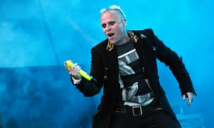 The late Keith Flint of The Prodigy.