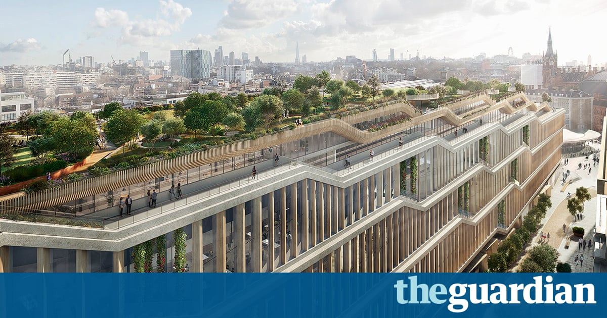 Google submits plans for 'landscraper' London headquarters   Technology    The Guardian