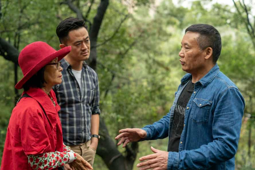 Jenny Phang with son Benjamin Law