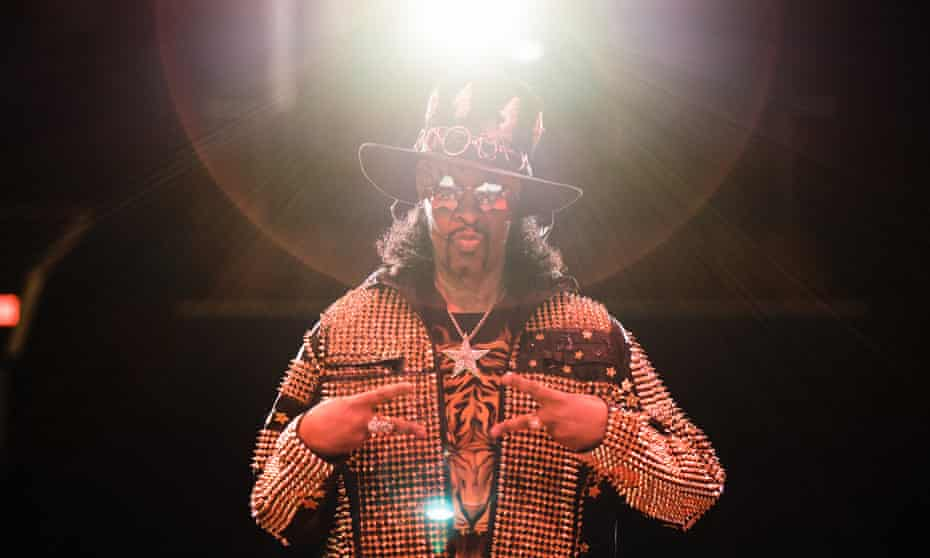 Bootsy Collins: 'Funk just brings people together. It doesn't have nothing to do with colour.'