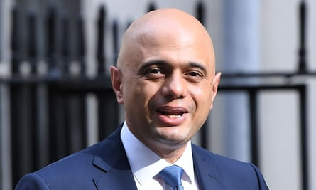 Sajid Javid, Chancellor of the Exchequer. 'After nearly a decade of chronic underfunding, our public services are in crisis,' write representatives from 34 women's organisations.