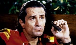 Robert de Niro plays the vengeful rapist ex-con in Martin Scorse's 1991 film Cape Fear.