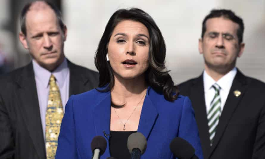 Gabbard is running for president on a platform that appears at a glance to match that of any other Democrat circa 2020.