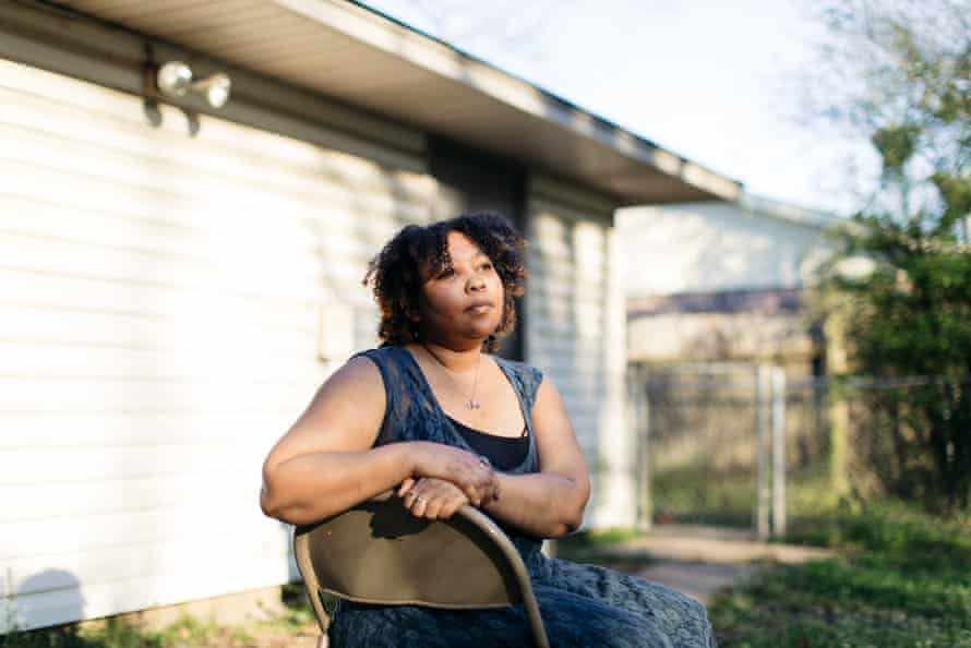 Tiffany Pennywell at her home in Shreveport, Louisiana on February 28, 2020.