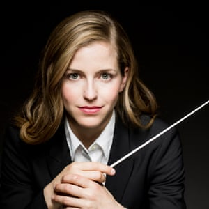 Karina Canellakis, who will conduct the first night