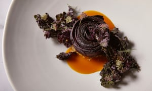 Salted carrot, quinoa and kale from chef Brent Savage at Sydney's Yellow restaurant.