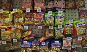 Sweets in a London supermarket