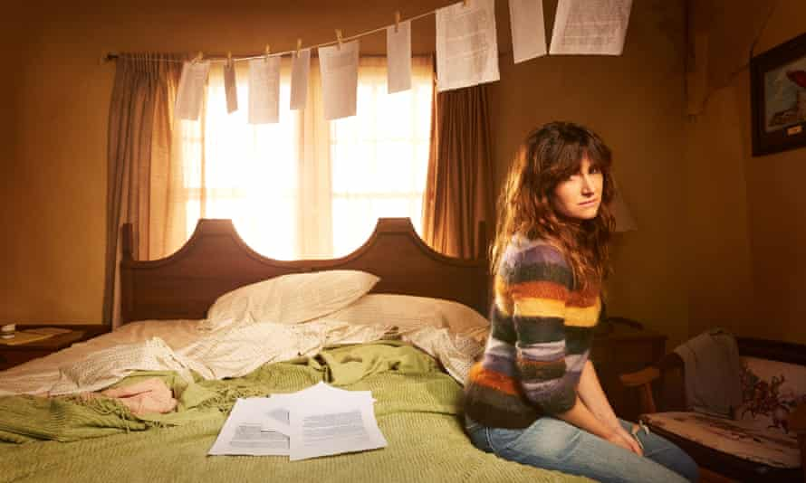 Post modern … Kathryn Hahn in the TV adaptation of I Love Dick.