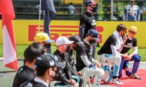The drivers have seemed disorganised in their pre-race protests this season.