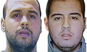 Khalid (left) and Ibrahim el-Bakraoui, the two Belgian brothers identified as the suicide bombers who struck Brussels on 22 March.
