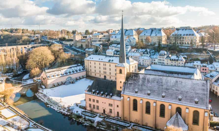 Luxembourg city in Luxembourg. The principality has a tax rate of 15%.