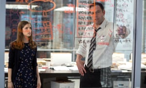 'Te only thing that sets The Accountant apart from its peers is its irritating, clueless hypocrisy, and its lousy title' ... Anna Kendrick and Ben Affleck in The Accountant.
