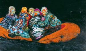 Part of Daniel Richter's Tarifa, 2001